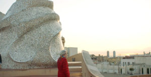 """Frames of """"Living with Gaudí"""""""
